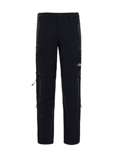 The North Face Exploration Convertible - Erkek Pantolon Siyah
